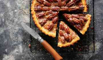 A Pecan Pie with Galilee's Delicacy Silan